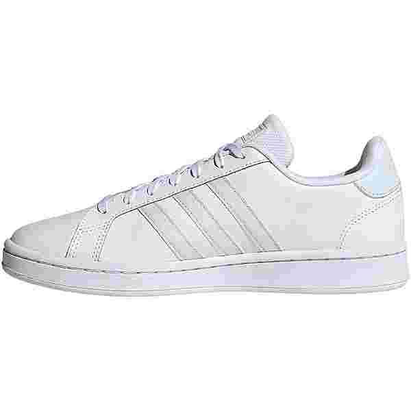 adidas Grand Court Sneaker Damen ftwr white-sky tint-pink tint