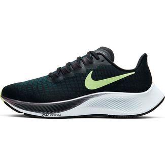 Nike Air Zoom Pegasus 37 Laufschuhe Damen black-ghost green-valerian blue