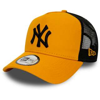 New Era Trucker New York Yankees Cap yellow