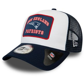 New Era Trucker New England Patriots Cap white-navy