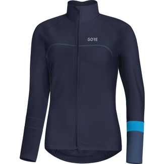 GORE® WEAR C5 Thermo Trikot Funktionsshirt Damen orbit blue-dynamic cyan