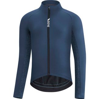 GORE® WEAR C5 Thermo Trikot Fahrradtrikot Herren orbit blue-deep water blue