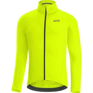 GORE® WEAR C3 Thermo Trikot Fahrradtrikot Herren neon yellow