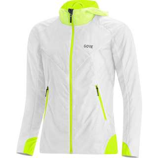 GORE® WEAR GORE-TEX® R5 Infinium Laufjacke Damen white-neon yellow