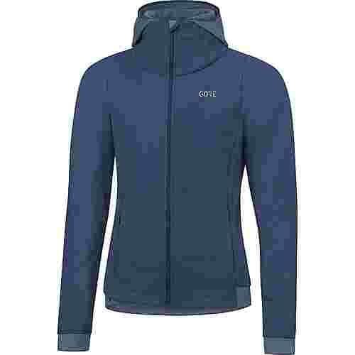 GORE® WEAR R3 Laufjacke Damen deep water blue