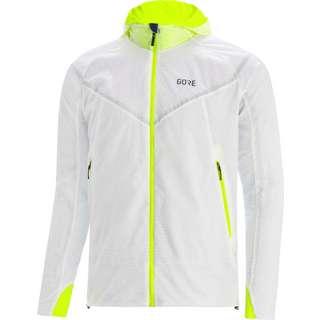 GORE® WEAR GORE-TEX R5 GTX I Insulated Laufjacke Herren white-neon yellow