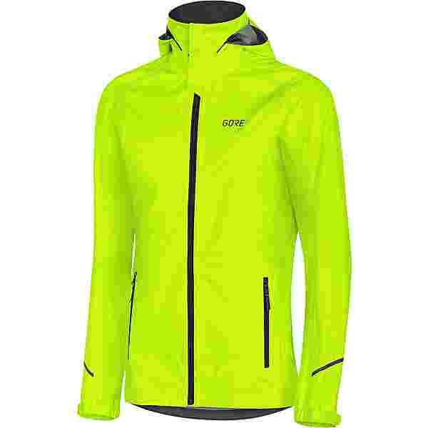 GORE® WEAR GORE-TEX R3 Active Fahrradjacke Damen neon yellow