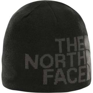 The North Face Revisible Banner Wendemütze tnfblck/asphaltgreylogoxl