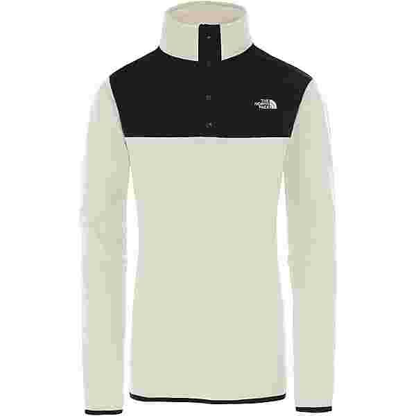 The North Face GLACIER Fleeceshirt Damen vintage white-tnf black