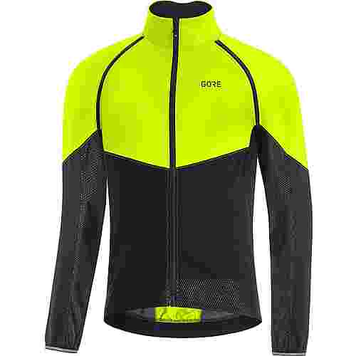 GORE® WEAR GORE-TEX® C3 INFINIUM™ PHANTOM Jacke Fahrradjacke Herren neon yellow-black
