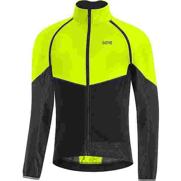 GORE® WEAR GORE-TEX PHANTOM Fahrradjacke Herren neon yellow-black