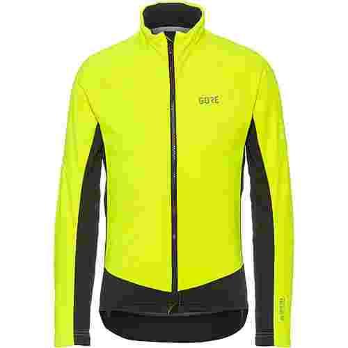 GORE® WEAR GORE-TEX® C3 INFINIUM™ Thermo Jacke Fahrradjacke Herren neon yellow-black