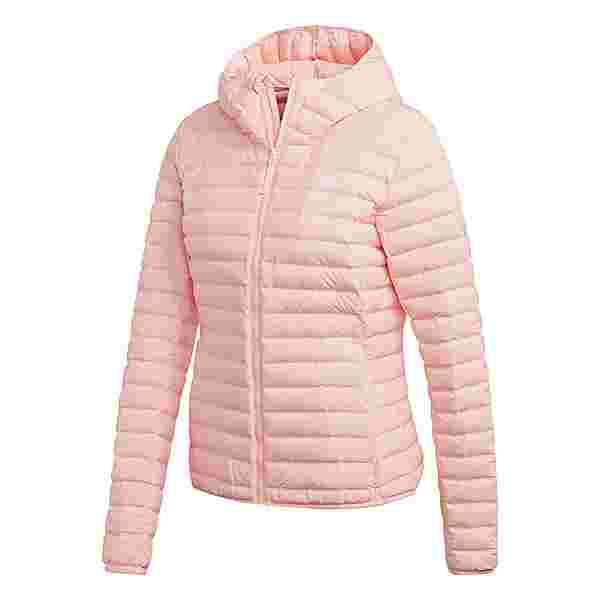 adidas Varilite Soft Hooded Jacke Funktionsjacke Damen Rosa