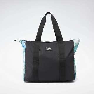 Reebok Tech Style Graphic Tote Bag Sporttasche Damen Black / Horizon Blue