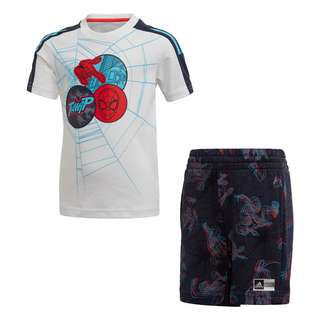 adidas Spider-Man Sommer-Set Trainingsanzug Kinder White / Legend Ink / Bright Cyan