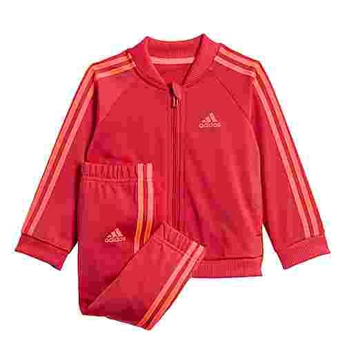 adidas 3-Streifen Tricot Trainingsanzug Trainingsanzug Kinder Power Pink / Power Pink / Signal Pink / Coral