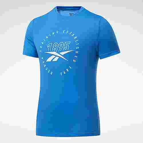 Reebok Graphic Series Speedwick T-Shirt Funktionsshirt Herren Blau