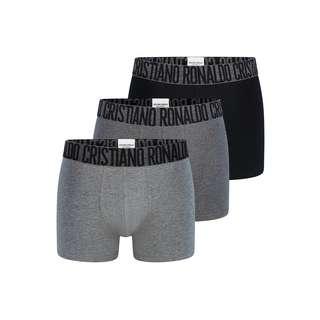 CR7 Cristiano Ronaldo CR7 Underwear Boxer Herren Schwarz/Grau