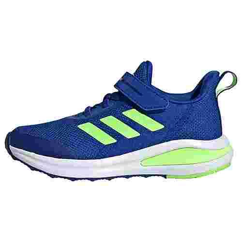 adidas FortaRun 2020 Laufschuh Laufschuhe Kinder Royal Blue / Cloud White / Signal Green