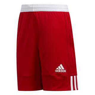 adidas 3G Speed Reversible Shorts Funktionsshorts Kinder Power Red / White