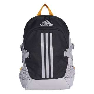 adidas Rucksack Power 5 Rucksack Daypack Kinder Black / Glory Grey / Active Gold