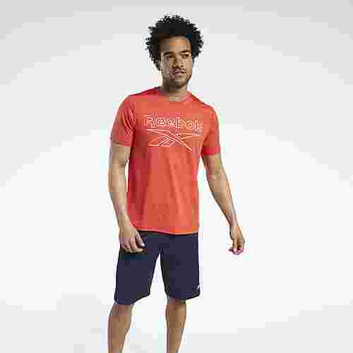 Reebok Workout Ready ACTIVCHILL T-Shirt Funktionsshirt Herren Rot