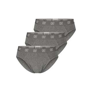 CR7 Cristiano Ronaldo CR7 Underwear Slip Herren Grau