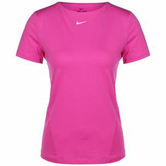 Nike Pro All Over Mesh Trainingsshirt Damen pink