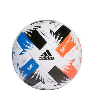 adidas Tsubasa League Ball Fußball Herren White / Solar Red / Glow Blue / Black