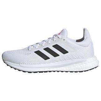 adidas SolarGlide 3 Laufschuh Laufschuhe Damen Cloud White / Core Black / Signal Pink