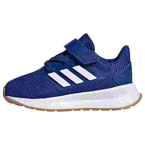 adidas Run Falcon Schuh Laufschuhe Kinder Royal Blue / Cloud White / Semi Solar Red