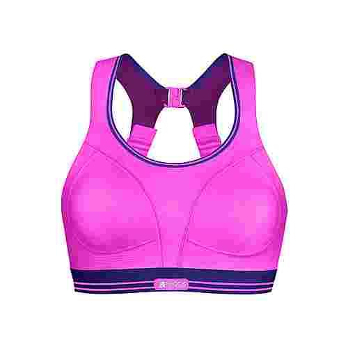 Shock Absorber RUN Sport Sport-BH Damen pink-lila