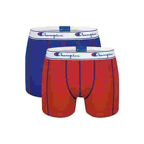CHAMPION Authentic Boxer Herren red/royal blue