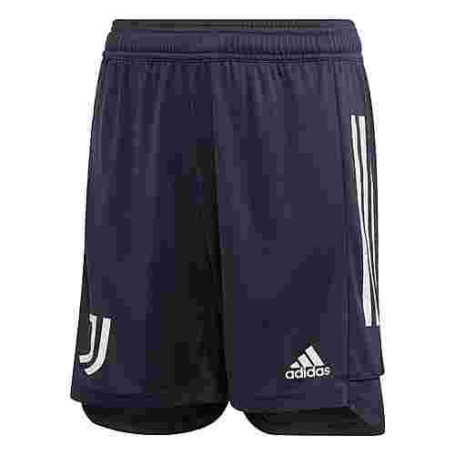 adidas Juventus Turin Trainingsshorts Funktionsshorts Kinder Legend Ink / Orbit Grey
