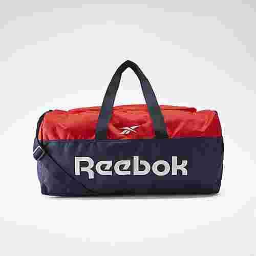 Reebok Active Core Grip Duffel Bag Medium Sporttasche Herren Vector Navy / Instinct Red