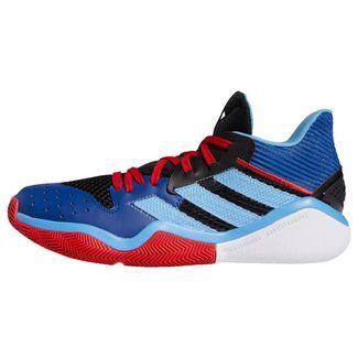 adidas Harden Stepback Basketballschuh Sneaker Herren Core Black / Team Light Blue / Collegiate Royal