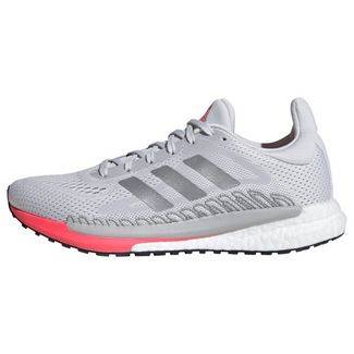 adidas SolarGlide 3 Laufschuh Laufschuhe Damen Dash Grey / Silver Metallic / Signal Pink