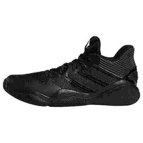 adidas Harden Stepback Basketballschuh Sneaker Herren Core Black / Grey Six / Core Black