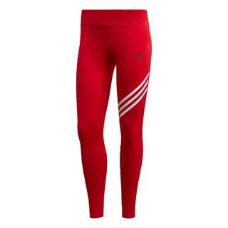 adidas Run It 3-Streifen 7/8 -Tight Tights Damen Rot