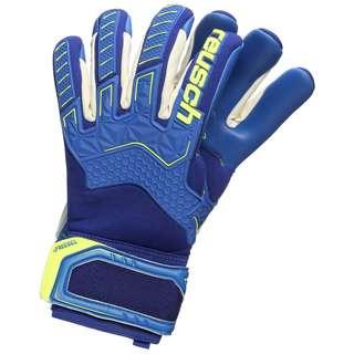 Reusch Attrakt Freegel G3 Finger Support Torwarthandschuhe Herren blau / gelb