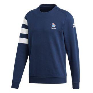adidas French Handball Federation Sweatshirt Sweatshirt Herren Collegiate Navy / White