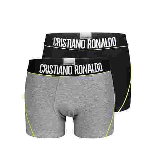 CR7 Cristiano Ronaldo CR7 Underwear Boxer Herren Schwarz/Grau/Lime