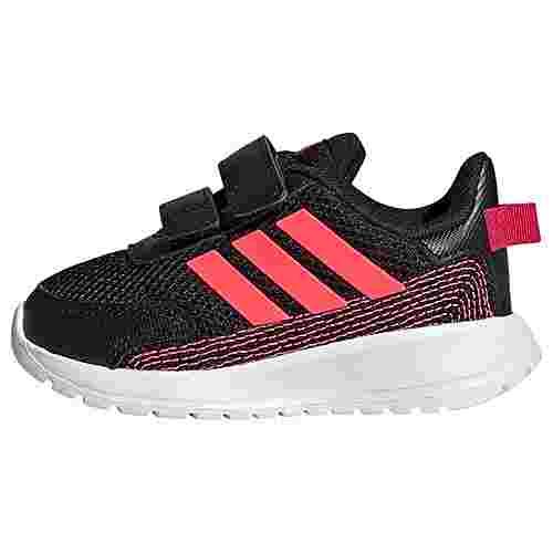 adidas TENSAUR RUN I Schuh Laufschuhe Kinder Core Black / Signal Pink / Power Pink / Coral