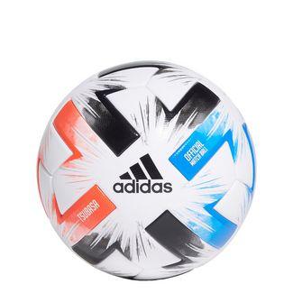 adidas Tsubasa Pro Ball Fußball Herren White / Solar Red / Glow Blue / Black
