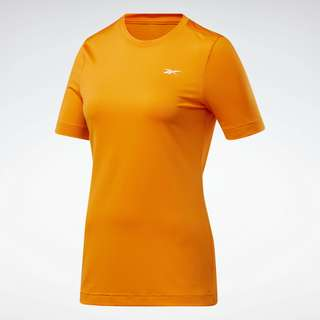 Reebok Workout Ready Supremium T-Shirt Funktionsshirt Damen Orange