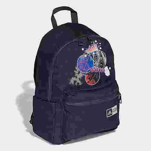 adidas Rucksack Spider-Man Graphic Rucksack Daypack Kinder Legend Ink / Silver Metallic / White / Royal Blue