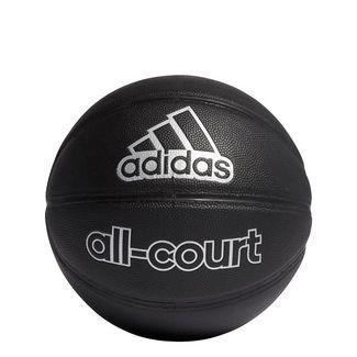 adidas All-Court Basketball Basketball Herren Black / Silver Metallic