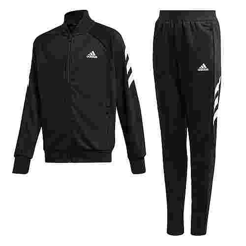 adidas XFG Trainingsanzug Trainingsanzug Kinder Black / White