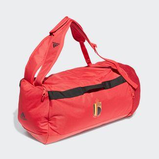 adidas Belgien Duffelbag Sporttasche Herren Glory Red / Black