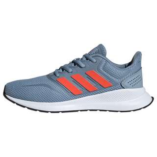 adidas Runfalcon Schuh Laufschuhe Kinder Tactile Blue / Semi Solar Red / Core Black